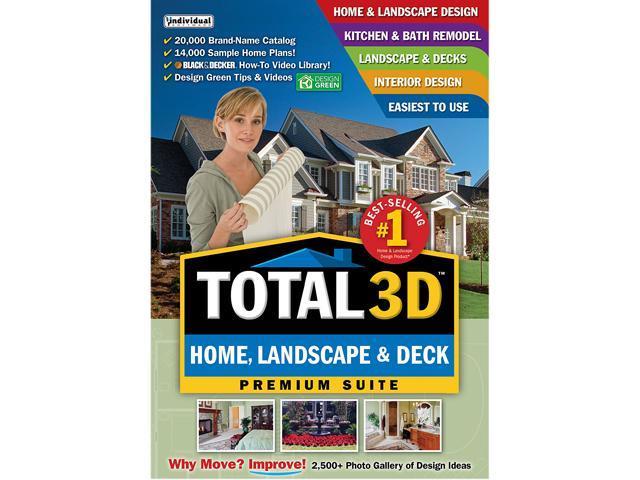 Individual software total 3d home landscape deck - Total 3d home and landscape design suite ...