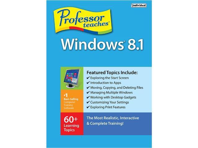 Individual Software Professor Teaches Windows 8.1 - Download