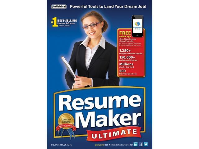individual software resumemaker ultimate 6 download - Individual Software Resume Maker