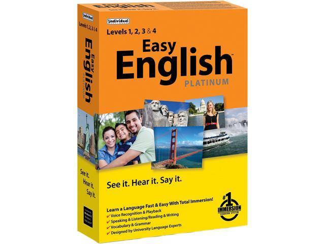 Individual Software Easy English Platinum