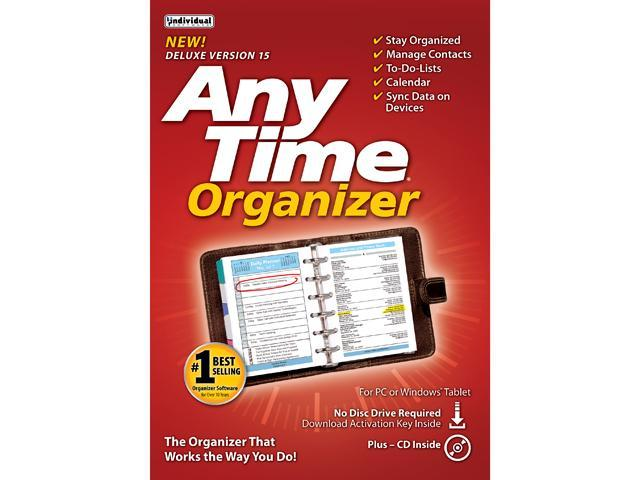 Individual Software Anytime Organizer 15 - Download