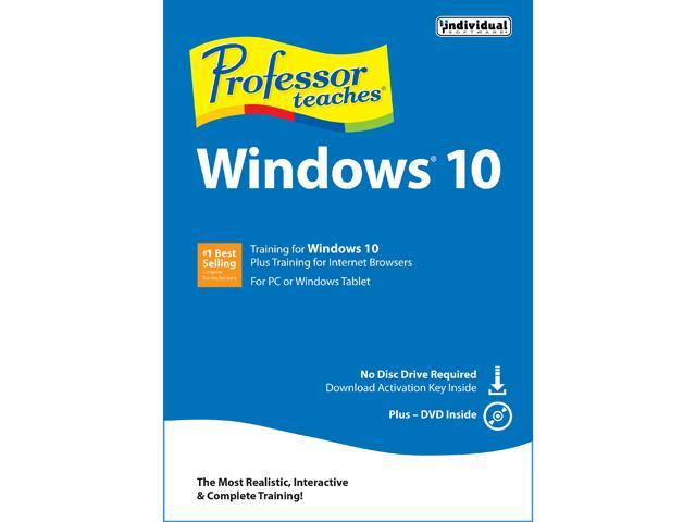 Individual Software Professor Teaches Windows 10
