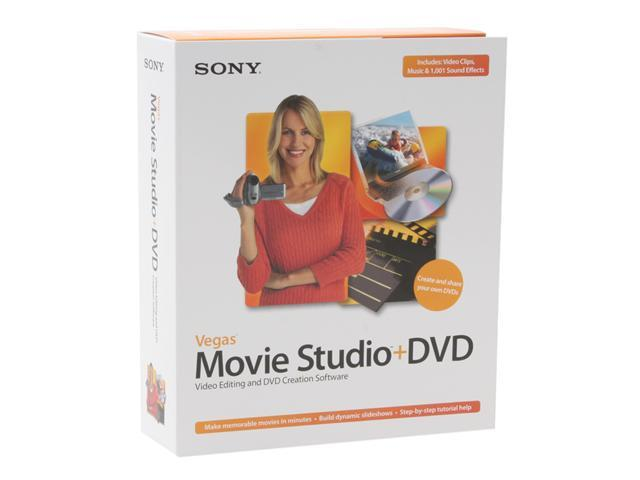 SONY Vegas Movie Studio+DVD