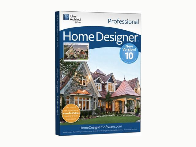 Chief Architect Home Designer Professional 10 Software
