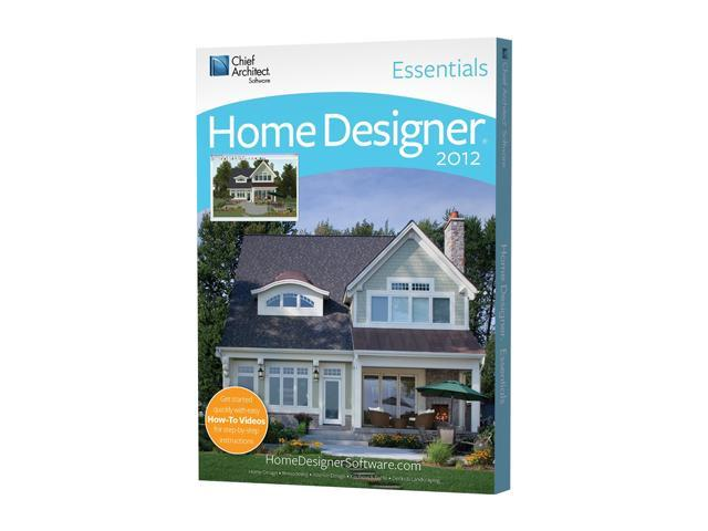 Chief Architect Home Designer Essentials 2012 Software