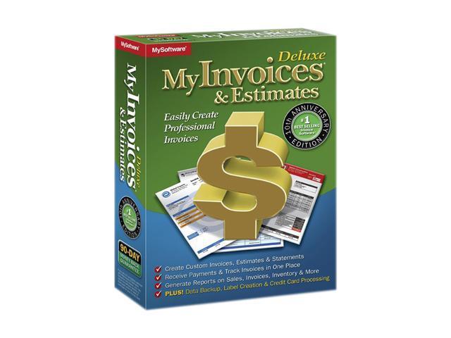 Avanquest MyInvoices & Estimates Deluxe