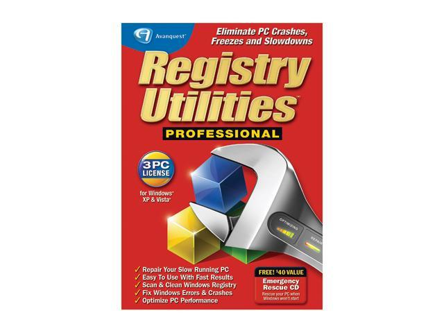 Avanquest Registry Utilities Professional - 3PC