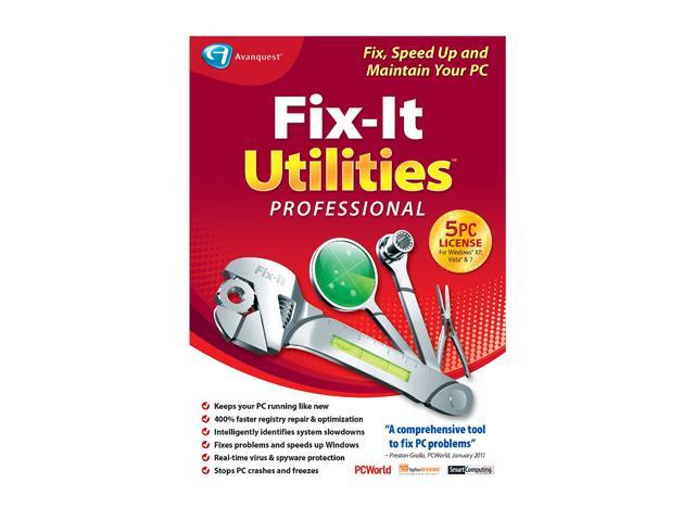 Avanquest Fix-It Utilities Professional - 5PC