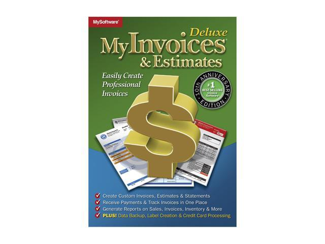 Avanquest MyInvoices & Estimates Deluxe