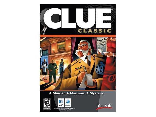 Clue Classic Mac Game