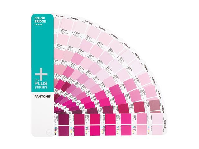 PANTONE PLUS SERIES COLOR BRIDGE Guide Coated and Supplement of 336 New Colors