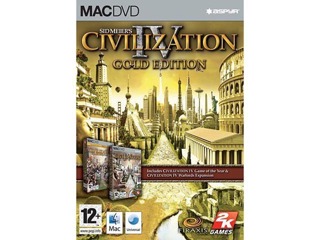 Civilization 4 Gold Edtion - Mac Game