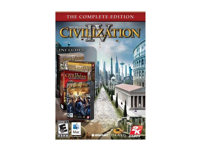 Civilization IV: The Complete Edition - Mac Game