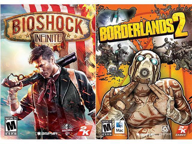 2K Power Pack (Bioshock Infinite + Borderlands 2) for Mac [Online Game Codes]