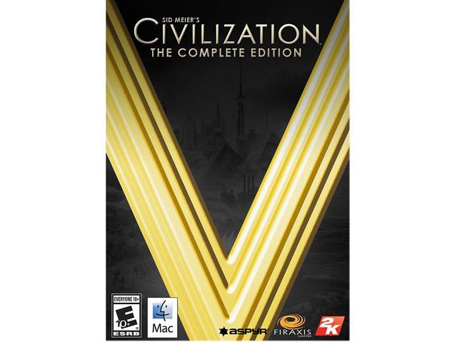 Sid Meier's Civilization V: The Complete Edition for Mac - Promotion Attach Only [Online Game Code]