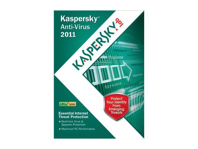 Kaspersky Anti-Virus 2011 - 3 User