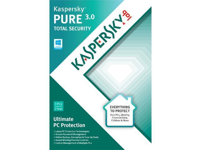 Kaspersky Pure 3.0 - 3 PCs