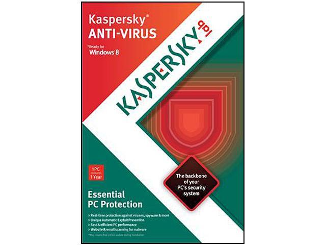 Kaspersky Anti-Virus 2013 1 PC - Download