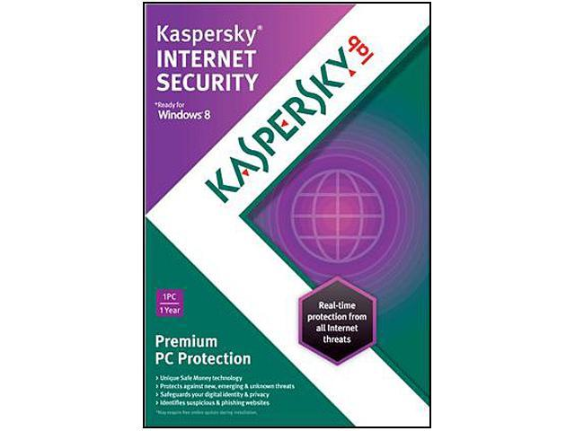 Kaspersky Internet Security 2013 1 PC - Download