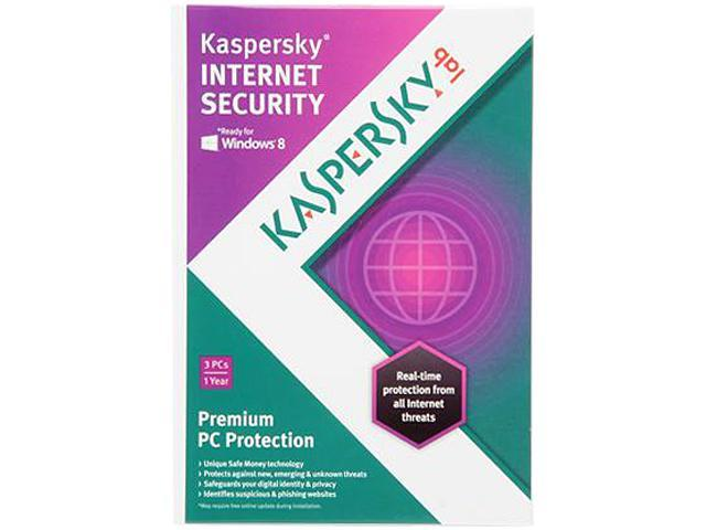Kaspersky Internet Security 2013 3 PCs - Download
