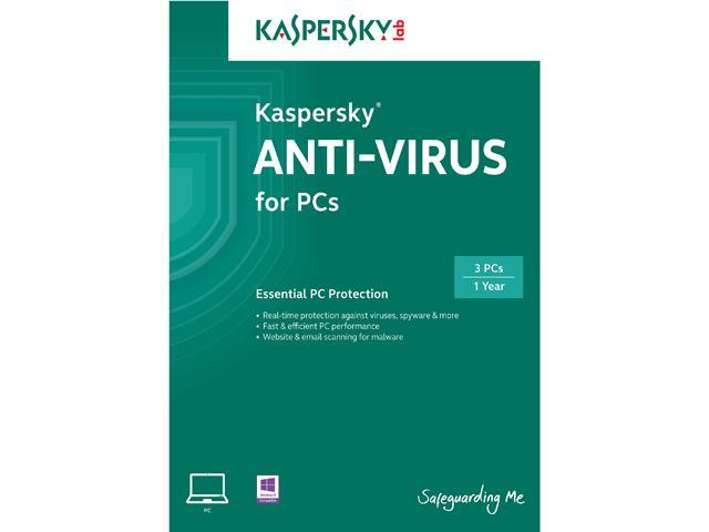 Kaspersky Anti-Virus 2014 - 3 PCs