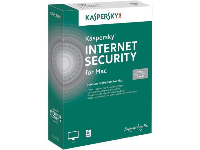 Kaspersky Internet Security for Mac - 1 Mac