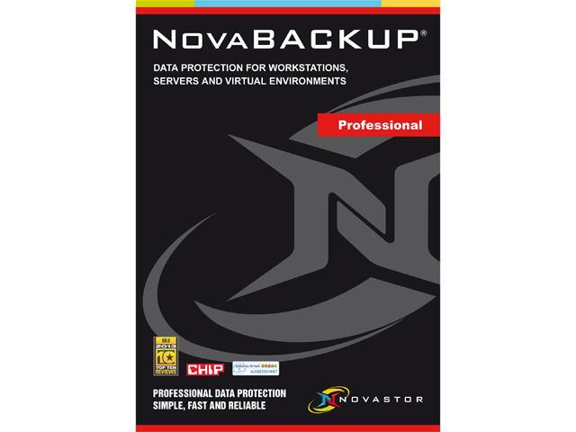 NOVASTOR NovaBACKUP Professional Family Pak with NovaCare Premium - 3 Workstations - Download