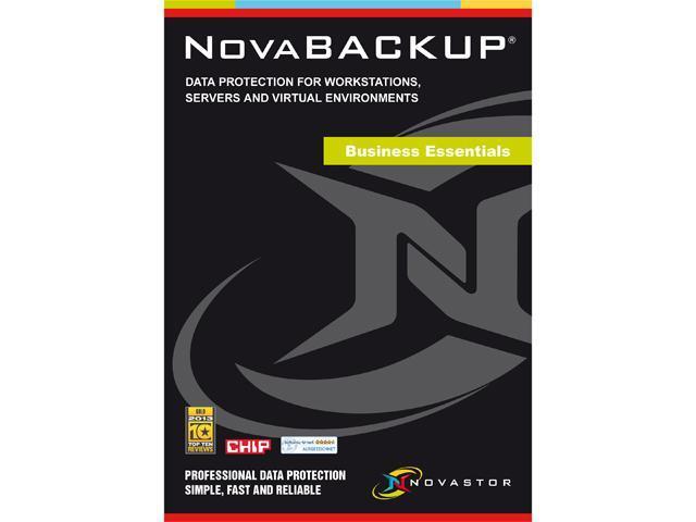 NOVASTOR NovaBACKUP BUSINESS ESSENTIALS with NovaCare Premium - Download
