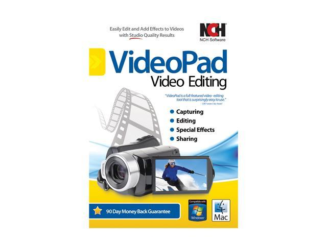 NCH Software VideoPad Video Editing