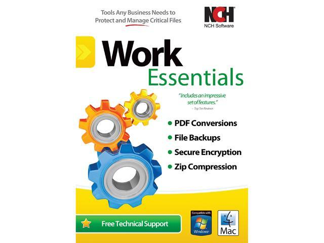 NCH Software Work Essentials