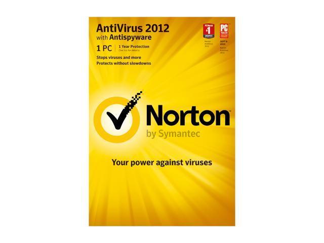 Symantec Norton Antivirus 2012 1 User