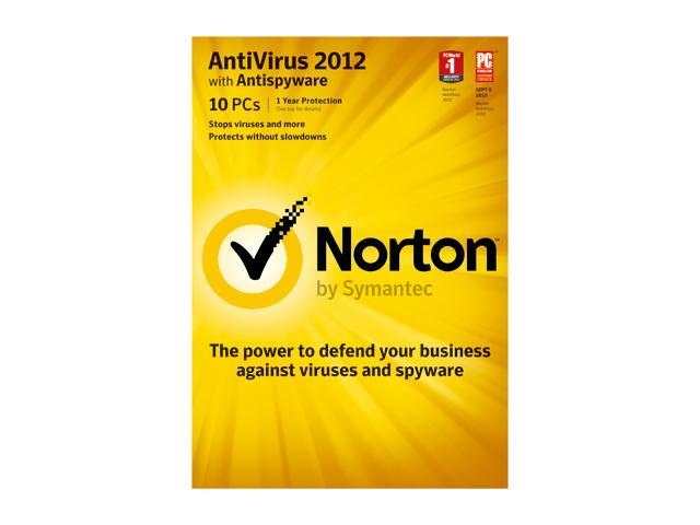 Symantec Norton Antivirus 2012 10 User