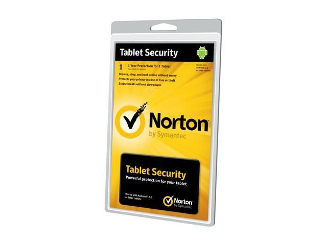 Symantec Norton Tablet Security 2.0 1 User