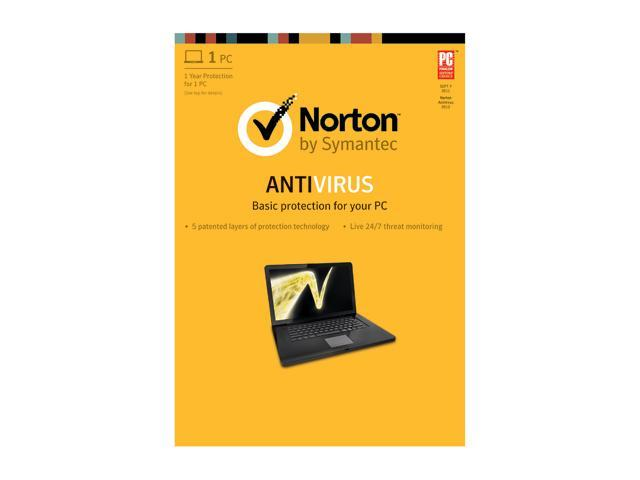 Symantec Norton Antivirus 2013 - 1 PC