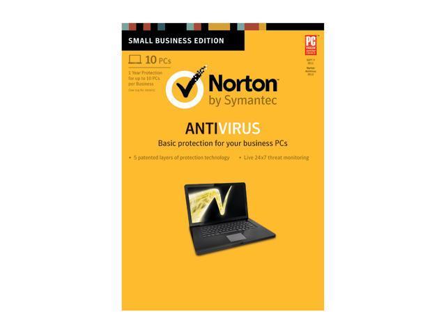 Symantec Norton Antivirus 2013 - 10 PCs