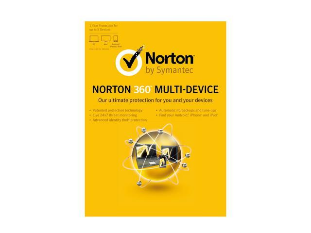 Symantec Norton 360 Multi Device - 5 Devices