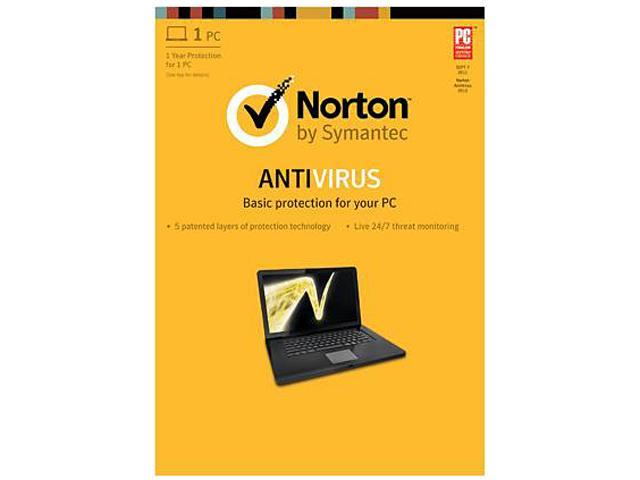Symantec  Norton AntiVirus 2013 - 1 PC Download