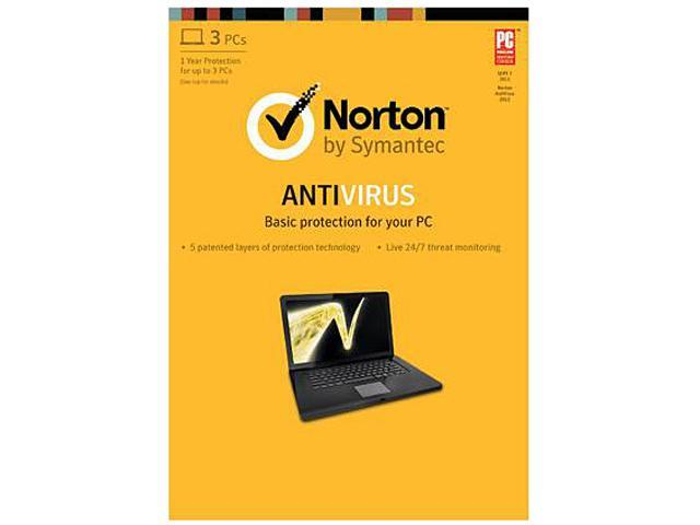 Symantec Norton AntiVirus 2013 - 3 PCs Download
