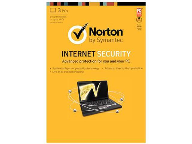 Symantec Norton Internet Security 2013 - 3 PCs - Download