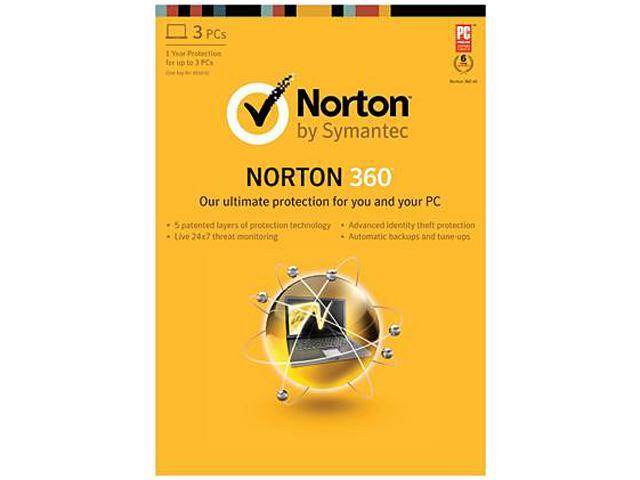 Symantec Norton 360 2013 - 3 PCs Download