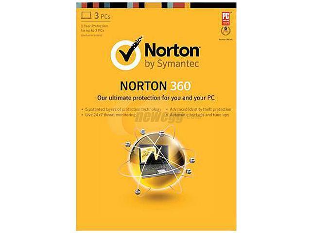 Symantec Norton 360 2013 Academic - 1 PC Download