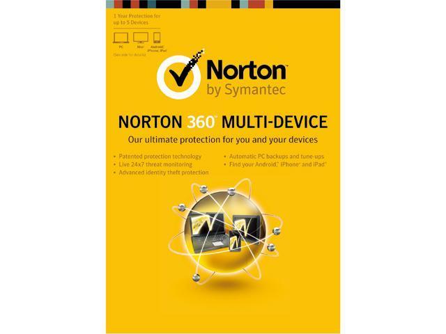 Symantec Norton 360 Multi Device - 5 Devices - Download