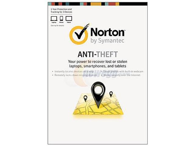 Symantec Norton Anti-Theft - 3 Devices - Download