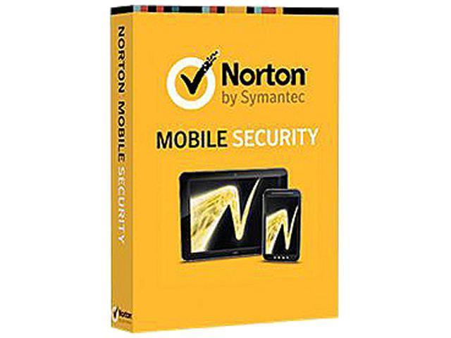 Symantec Norton Mobile Security 3.0 CN 1User Card Clamshell