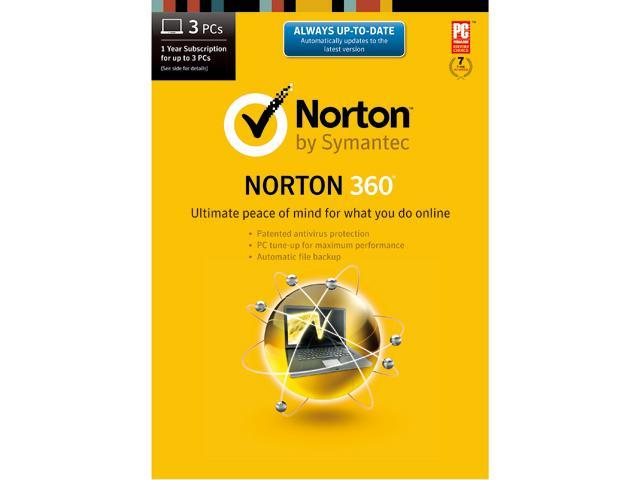 Symantec Norton 360 2014 - 3 PCs Download