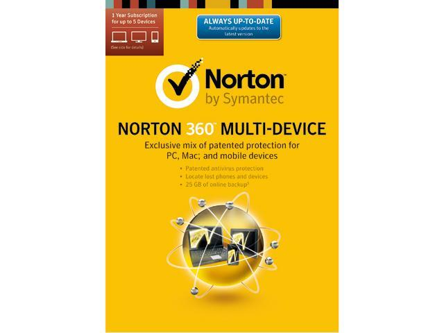 Symantec Norton 360 2014 Multi-Device (5 Devices) - Download