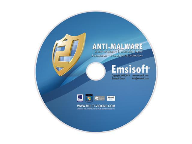 Emsisoft Anti-Malware - 3 PCs