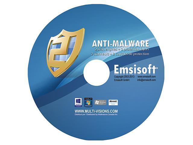 Emsisoft Anti-Malware - 1 PC