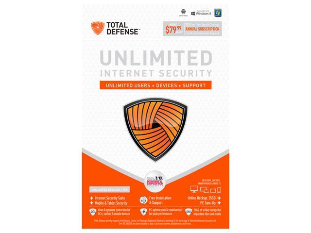 Total Defense Internet Security Unlimited Users - Download