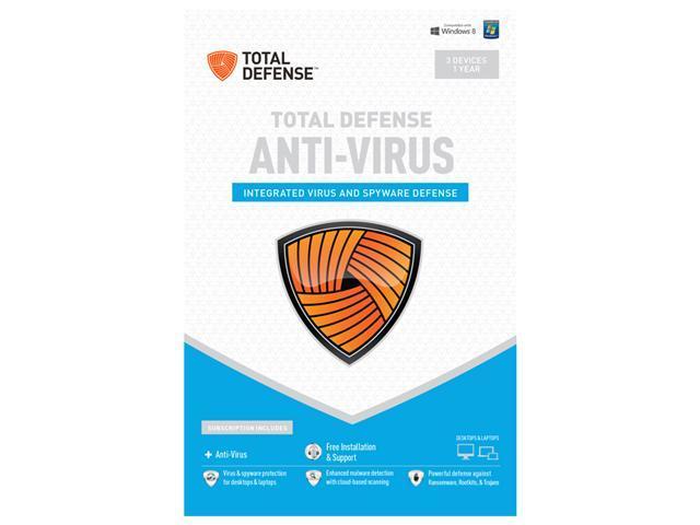 Total Defense Anti-Virus 3 PCs - Download